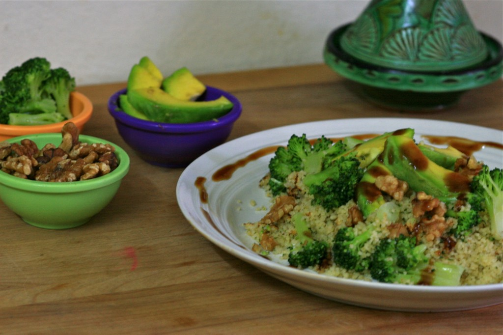 Warm Millet and Broccoli